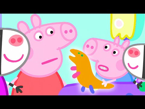 Peppa Pig Official Channel 🦖 Peppa Pig Makes a Pottery Tea Set