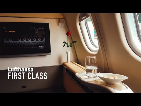 Upgrade to FIRST CLASS || Lufthansa First || A340 from ICN to MUC (+First Class Lounge)