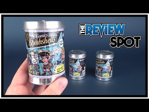 Collectible Spot | Cryptozoic Entertainment DC Lil Bombshells Series 2 Vinyl Figures