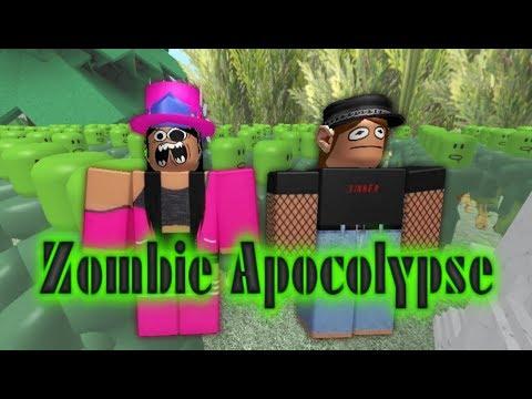 Zombie Apocolypse  Tanya and Julia