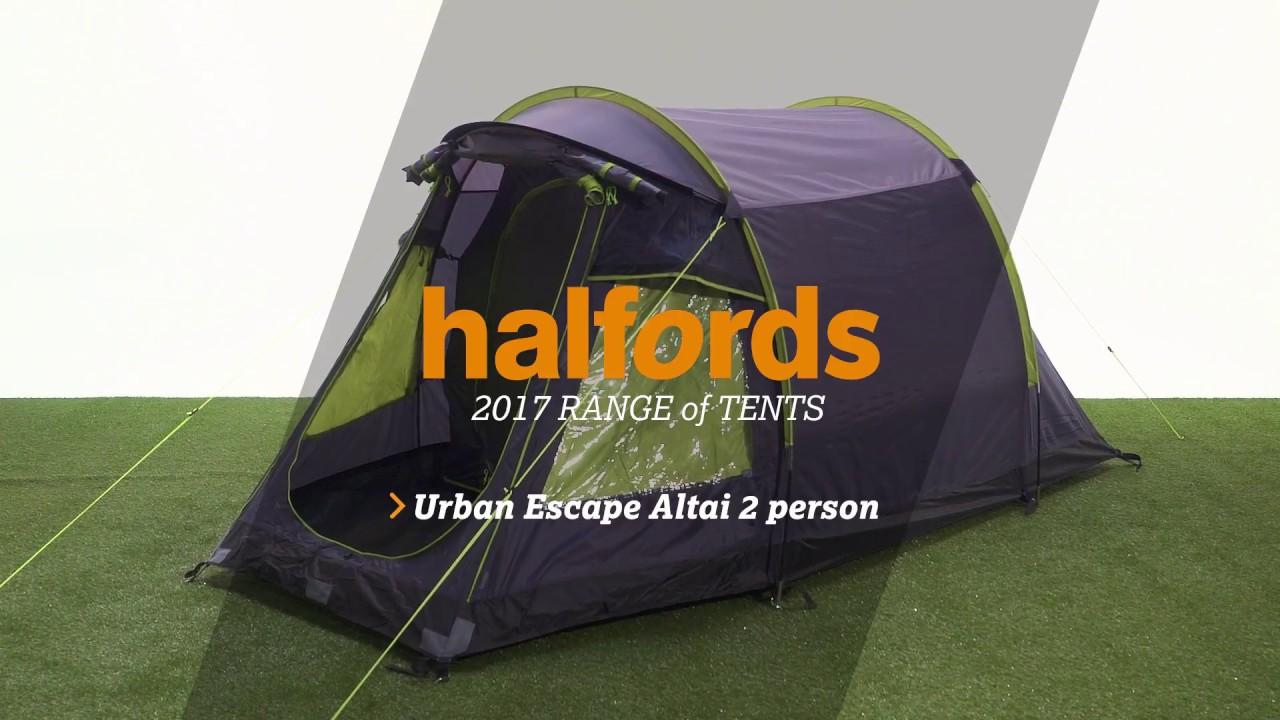 Urban Escape 2 Person Tent & Urban Escape 2 Person Tent - YouTube