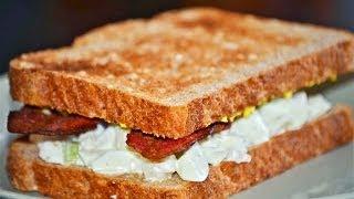 Reel Flavor - Deviled Egg White Salad Sandwich