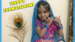 Happy Janmashtami | Radha Costume Ideas For Kids | Indian Mom On Duty