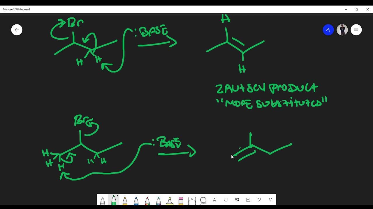 Download E2 Reaction Basics (Hoffman, Zaitsev Product, Tert-butoxide, Alkoxides)