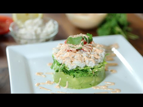 Crab and Avocado Salad Recipe from Wholly Guacamole