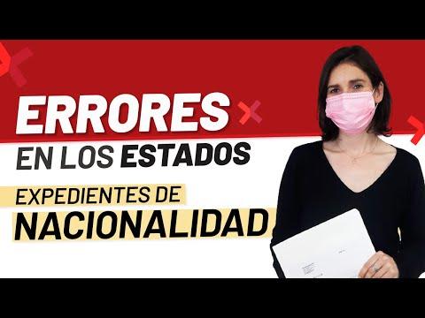 ❌🇪🇸 Errores en los Estados de los Expedientes de Nacionalidad Española