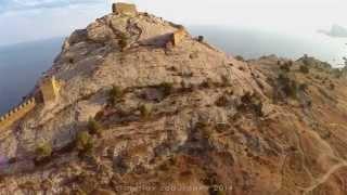 Генуэзская крепость в городе Судаке (Крым)(Смотреть в Full HD., 2014-09-17T10:42:51.000Z)