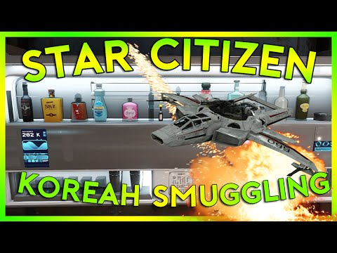 Star Citizen Alpha 2.4 | SMUGGLING IN KOREAH | Part 114 (Star Citizen 2016 PC Gameplay)