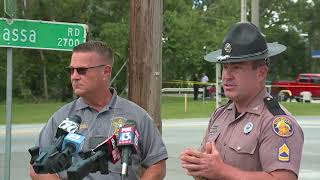 Deputies search for armed carjacking suspect | News conference April 25