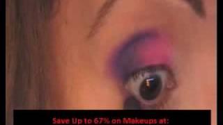 Hot Pink _  Bright Purple Coastal Scents 78 palette  _ MUFE.avi Thumbnail