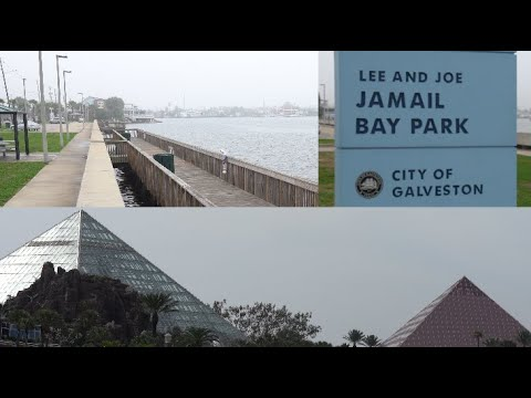 Fishing Galveston TX, How Deep Is Jamail Bay Park, Offats Bayou, Moody Gardens