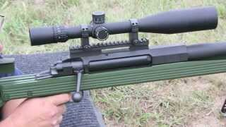 50 caliber rifle penetration test. Part 1  AR 50 Armalite
