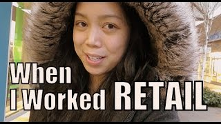 When I worked RETAIL- January 15, 2015  ItsJudysLife Vlogs