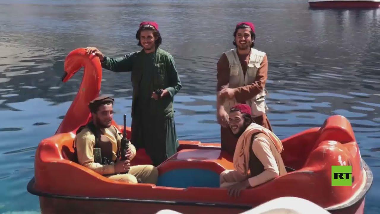 شاهد.. مسلحو طالبان يستمتعون بركوب القوارب في متنزه أفغاني وطني وهم يحملون أسلحتهم  - نشر قبل 7 ساعة