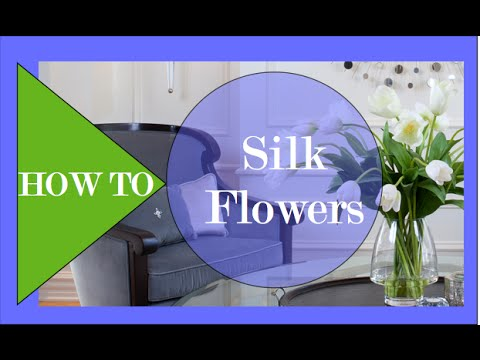 How To Decorate With SILK FLOWERS   Interior Design   YouTube