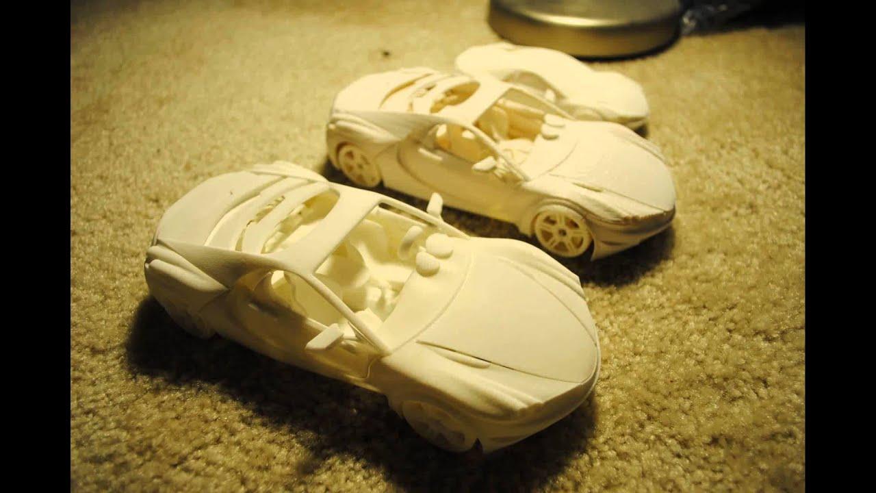 how to make model car wheels