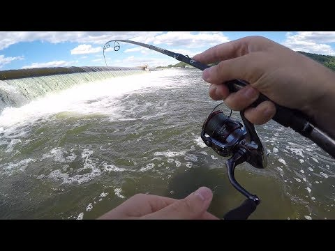 SUSQUEHANNA RIVER DAM Smallmouth Bass Fishing