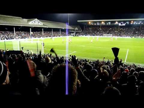 Fulham v Arsenal 2nd January 2012 - Bobby Zamora winner