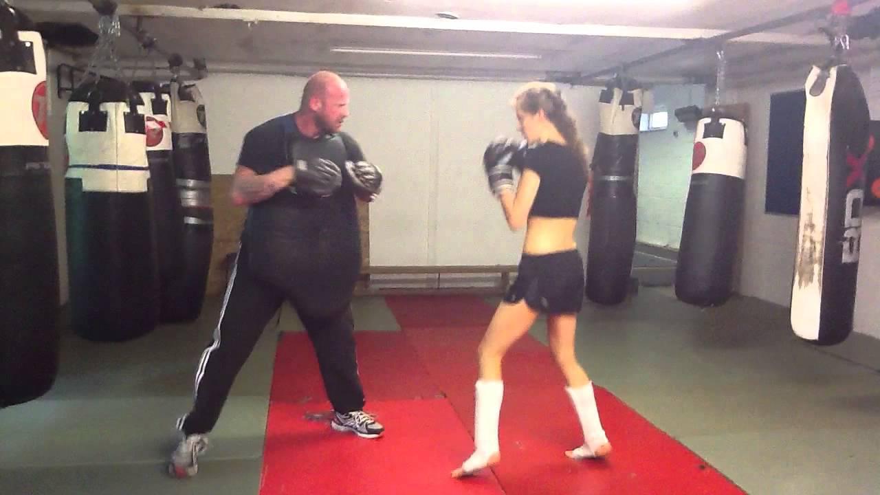 MQST, Bianca Nobilo kickboxing training