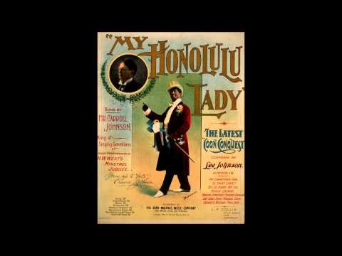 ''My Honolulu Lady'' -- Frank C. Stanley (1898)