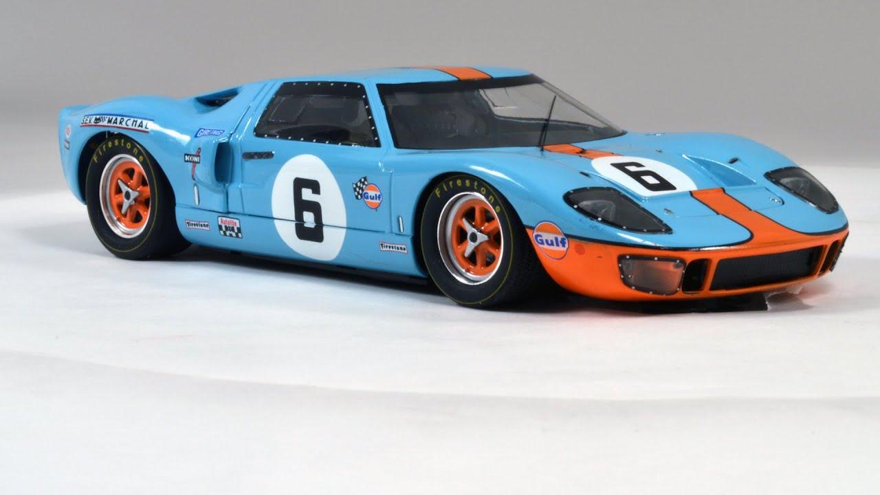 Ford GT40 Le Mans 1969 J. Ickx J. Oliver - YouTube