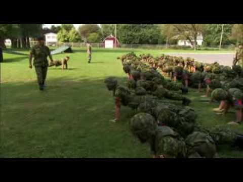 canadian armed forces basic training workout pdf
