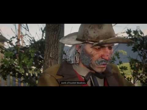 Red Dead Redemption 2 - The Iniquites of History:  Arthur Meets Jeremiah Compson Cutscene (2018)