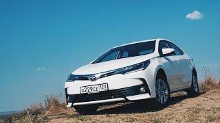 видео Первый тест-драйв новой Toyota Corolla / Тойота Королла