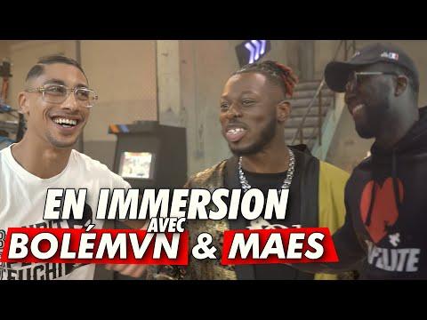 Youtube: En immersion délirante avec Bolémvn et Maes sur le clip 10K