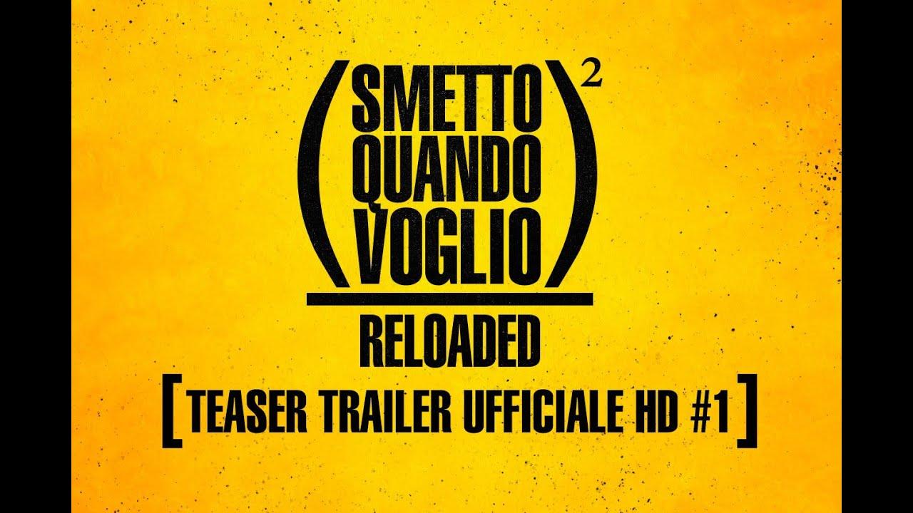 Smetto Quando Voglio Reloaded - Teaser Trailer  Ufficiale #1 HD