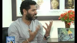 Seg  1 Prabhu deva with Suvarna News 28 Aug 12 Suvarna News
