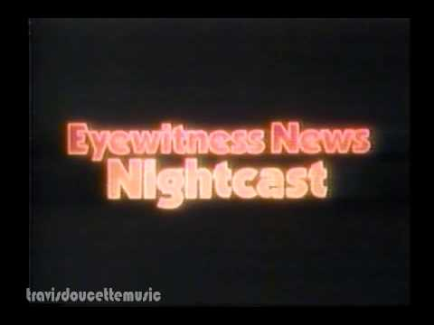 WKBW TV Late News Intro 80s