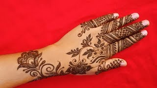 Step by Step Latest Mehndi Design For Hands   Henna Designs For Hands 2019