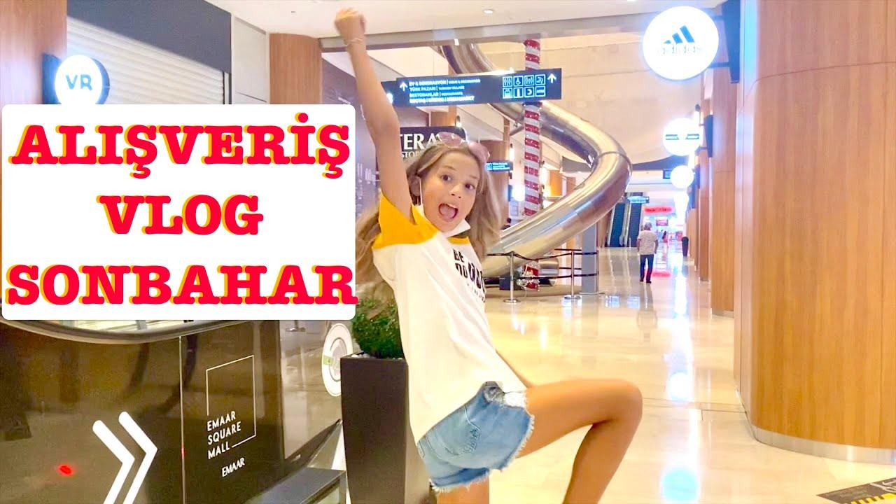 Alışveriş Vlog Sonbahar. Ecrin Su Çoban