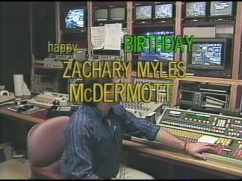Happy 8th Birthday Zachary