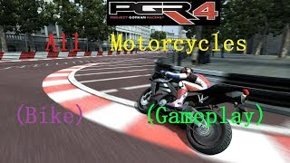 Project Gotham Racing 4 (PGR4): All Motorcycles (Bike) (Gameplay)