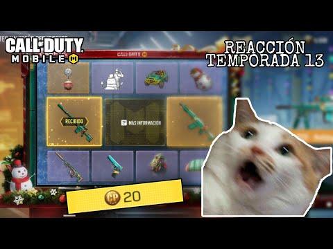 Me dan un arma LEGENDARIA en el primer tiro de ruleta + Reacción temporada 13 de Call Of Duty Mobile