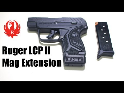 Ruger LCP II Mag Extension - YouTube