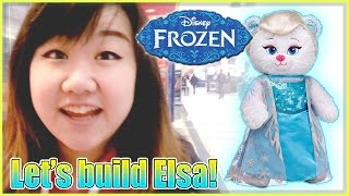 Let's Build Build-a-bear Frozen Elsa! - Disney Princess/queen Bear - Awesome Christmas Gift!