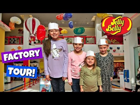 FAMILY FUN AT THE JELLY BELLY FACTORY TOUR!