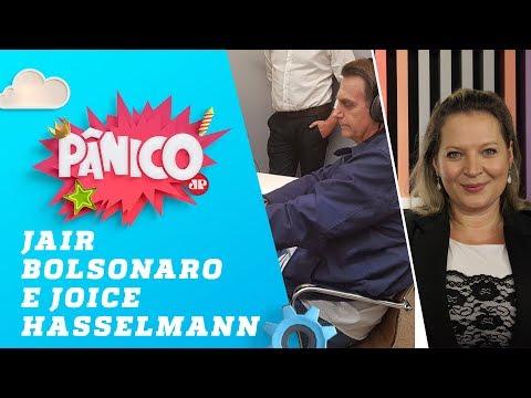Jair Bolsonaro e Joice Hasselmann - Pânico - 09/10/18
