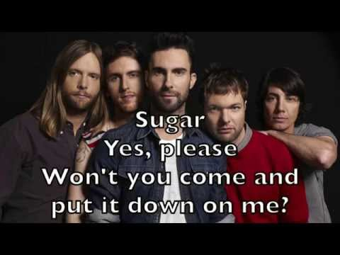 Maroon 5 - Sugar Karaoke Acoustic Instrumental Cover Backing Track + Lyrics