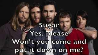 Maroon 5 - Sugar Karaoke Acoustic Instrumental Cover Backing Track + Lyrics
