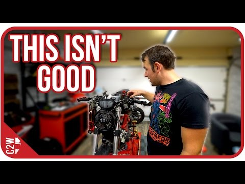 Did that mess the brakes up? [Wrecked Bike Rebuild - Ep. 11 - Ducati Monster 1100]