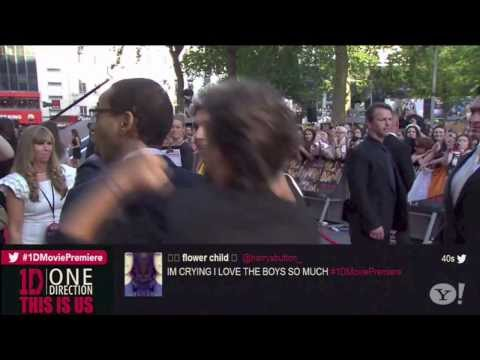 """One Direction's Best Moments/Faces of """"This Is Us"""" London Premiere"""