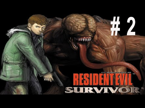 Resident Evil Survivor Walkthrough PS1 No Death Part 2/4