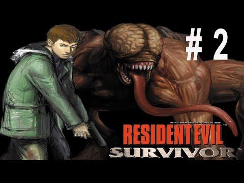 Resident Evil Survivor Walkthrough PS1 No Death Part 2/4