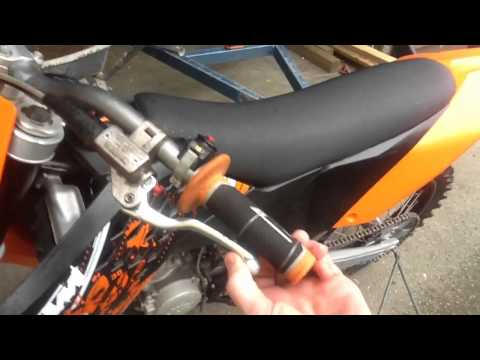 ktm 125 sx 2008 vs hillclimb !! - youtube