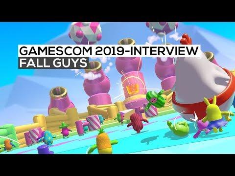 Fall Guys - Das Interview | gamescom 2019