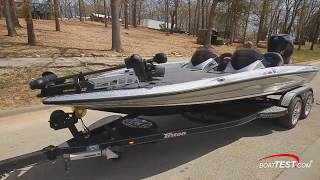 Triton 20 TRX Reviewed by BoatTest.com